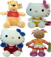 DISNEY TOY, WINNIE THE POOH, HELLO KITTY, TV CARTOON, UPSY DAISY PLUSH SOFT TOY