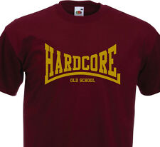 T-shirt HARDCORE ( graphisme Lonsdale )  Old School NYHC  Sick Of It All Madball