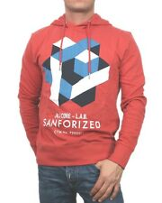 5043 Jack & Jones Kapuzen Pullover Sweater Rot