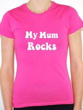 MY MUM ROCKS - Mothers Day / Novelty / Humorous Themed Womens T-Shirt