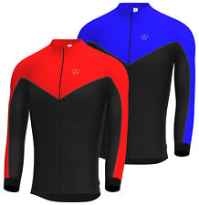 Mens Cycling Jersey Full sleeve Winter Thermal Cold Wear Cycling Jacket