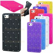 Bling Diamond Silicone Skin Rubber Case Cover For New Apple iPhone 5, 5G