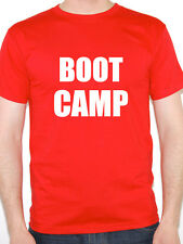 BOOT CAMP - Exercise / Fitness / Training / Fun Themed Mens T-Shirt