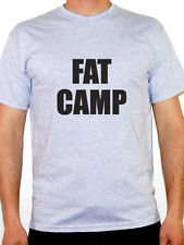 FAT CAMP - Exercise / Fitness / Training / Fun / Humorous Themed Mens T-Shirt