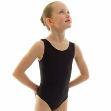 Roch Valley RAD Ballet Dance Sleeveless Leotard Nylon Lycra Girls Childs RVJUNE