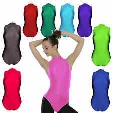 Ballet Dance LEOTARD Superb UK QUALITY Lycra Spandex Leotards ALL Sizes Colours