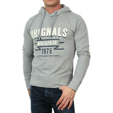 5595 Jack & Jones Kapuzen Pullover Sweatshirt Hooded Hazy Sweat grau
