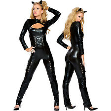 Fancy dress Two Piece Feline Queen Costume, cat very sexy....