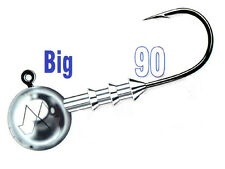 Mustad Big Game Jig Heads / size: #8/0 - 10-100g / 3pcs. per pack!