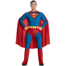 Superman Fancy Dress Costume Official Licensed Mens Superhero Hero Outfit Rubies