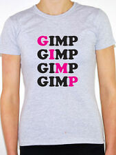 GIMP - Funny / Rude / Mask / Novelty / Humorous Themed Womens T-Shirt