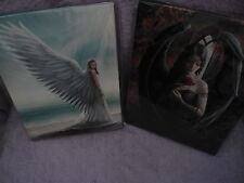 Anne Stokes Canvas Wall Hangings - *Guide Angel * Angel Rose * Immortal Flight*