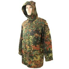 Original German Army Issue FLECKTARN CAMO PARKA - All Sizes Camouflage Jacket