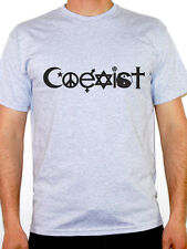 COEXIST SILHOUETTE - Peace / Novelty / Humorous / Fun Themed Mens T-Shirt