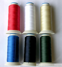 NYLON STRONG SEWING THREAD 40s ( CHOICE OF 15 COLOURS )