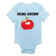 HOME GROWN - Fruit / Vegetables / Fresh Produce / Fun Themed Baby Grow / Suit