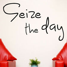 SEIZE THE DAY wall quote carpe diem sticker vinyl decal quotes stickers decor