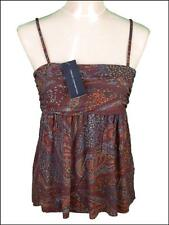 Bnwt Women's French Connection Strappy Top Blouse Fcuk New RRP£40 Viscose