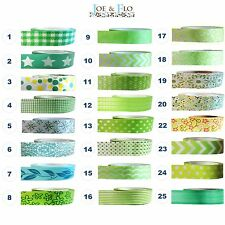 Washi Tape Masking Tape Gift and Craft Tape - GREEN