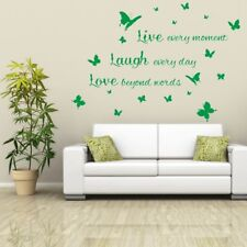 LIVE LAUGH LOVE wall stickers decal bedroom vinyl quotes mural transfer sticker