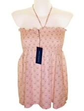 Bnwt Womens French Connection Strappy Top Blouse Boob Tube Peach Fcuk New RRP£30