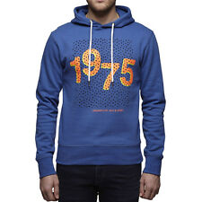 6185 Jack & Jones Herren Jason Sweat Kapuzen blau Sweatshirt Pullover