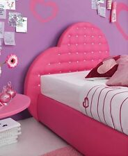 "LETTO CUORE CON SWAROVSKY SINGOLO - ""HEART"" SINGLE BED WITH SWAROVSKY"