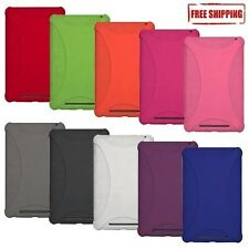 AMZER SOFT SILICONE SKIN GEL CASE COVER CARRY POUCH FOR ASUS GOOGLE NEXUS 7