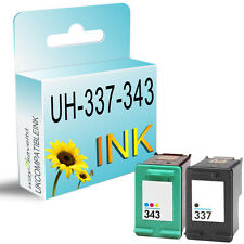 Remanufactured Ink Cartridge Replace For 337 & 343 PhotoSmart Printer