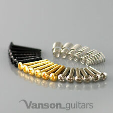 6 or 2 x Wilkinson Single Coil Pickup Screws for Vintage Strat®*, Tele®* guitar