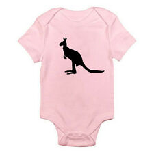 KANGAROO SILHOUETTE - Aussie / Joey / Bush / Fun / Novelty Themed Baby Grow/Suit