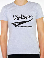 VINTAGE 1954 AGED TO PERFECTION -Birth Year/Birthday Gift Themed Women's T-Shirt