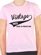 VINTAGE 1955 AGED TO PERFECTION -Birth Year/Birthday Gift Themed Women's T-Shirt