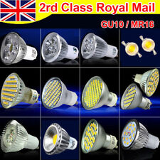 GU10 MR16 60SMD 6W 8W Dimmable Non-dimmable LED Bulb Lamp Light Day Warm White