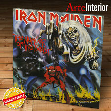 Stampa su tela CANVAS - IRON MAIDEN -  The Number Of The Beast - FINE ART PRINT