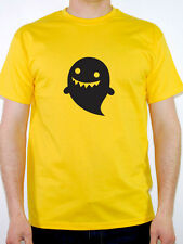 CARTOON GHOST SILHOUETTE - Halloween / Scary / Fun / Novelty Themed Mens T-Shirt
