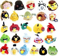 """NEW OFFICIAL 4"""" 6"""" 8"""" PLUSH ANGRY BIRDS AND ANGRY PIG SOFT TOY ANGRY BIRDS TOYS"""