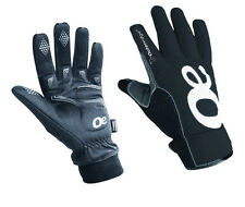 Outeredge Aerotex Reflective Cycling Gloves Waterproof & Breathable Black