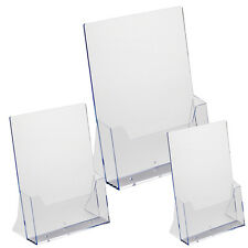 A4 A5 DL Leaflet Holder, Counter Stand, Leaflet and Brochure Display CLD