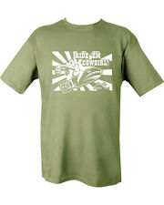 MILITARY ARMY T SHIRT IRAQ BRITISH ARMY US MARINE D-DAY DOLL RIDE EM COW GIRL