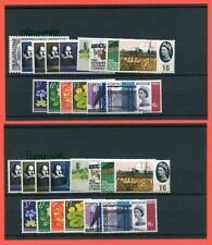 1964 Set of 8 Commemorative sets SG. 646 - 660p. UNMOUNTED MINT or MINT