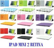 Ultra slim stand Smart Magnetic Case Cover + back for Apple ipad mini 2 retina