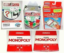 Vintage Parker Waddington 1984 1997 2002 2005 Travel Monopoly Board Game To Go