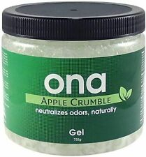 Ona Block Apple Crumble Powerful Organic Natural Odour Neutralizer Grow Room