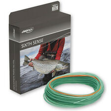 Airflo NEW 6th Sense Power Core Fast Glass Trans Green Fly Fishing Line S/R 1.5""
