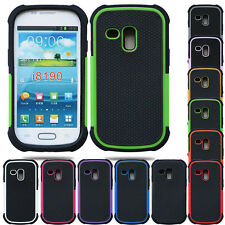 New Anti-slip Rugged Rubber Hard Cover Case for Samsung Galaxy S3 Mini i8190