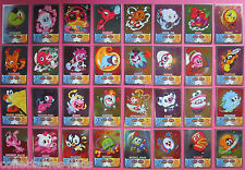 Series 4 Moshi Monsters Mash Up! cards: pick your mirror foil cards