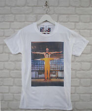 Uptown Classics Game Of Death Bruce Lee Cult Film White Crew Neck Tee T-shirt