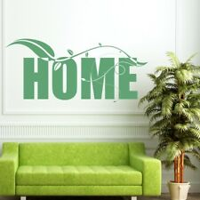 HOME wall sticker heart�lounge living room decal transfer stickers art quote