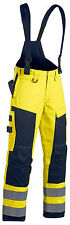 Blaklader Hi Vis Multinorm Winter Trousers with Braces(Waterproof & Lined)-1868